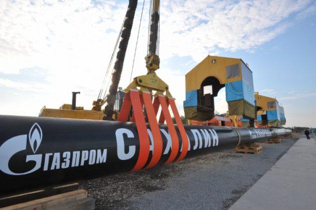 «Сахалин — Хабаровск — Владивосток» с сайта ПАО «Газпром»