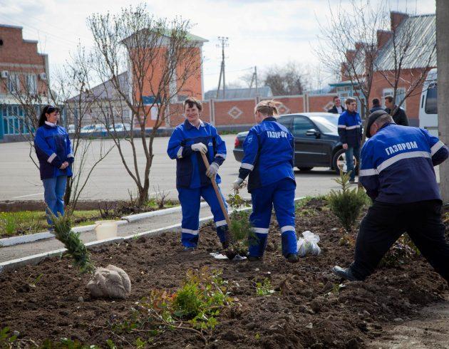«Зеленая весна - 2016» от «Газпром межрегионгаз Дальний Восток» и «Газпром газораспределение Дальний Восток»