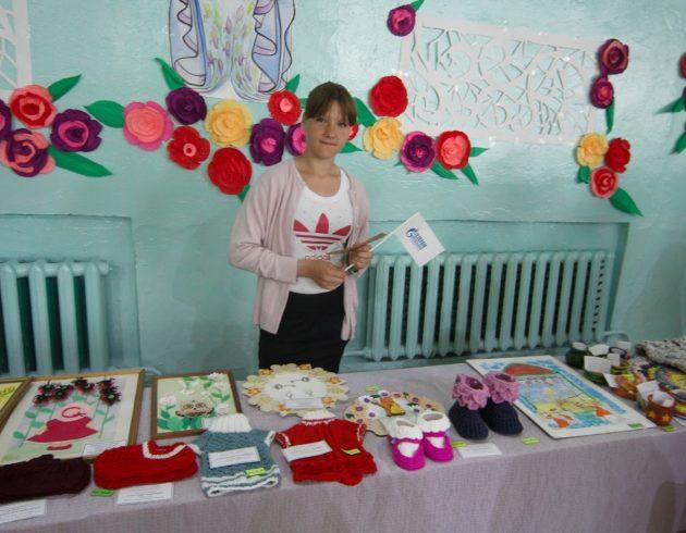 Благотворительную ярмарку в поддержку детей-воспитанников школы-интерната провели хабаровские газовики